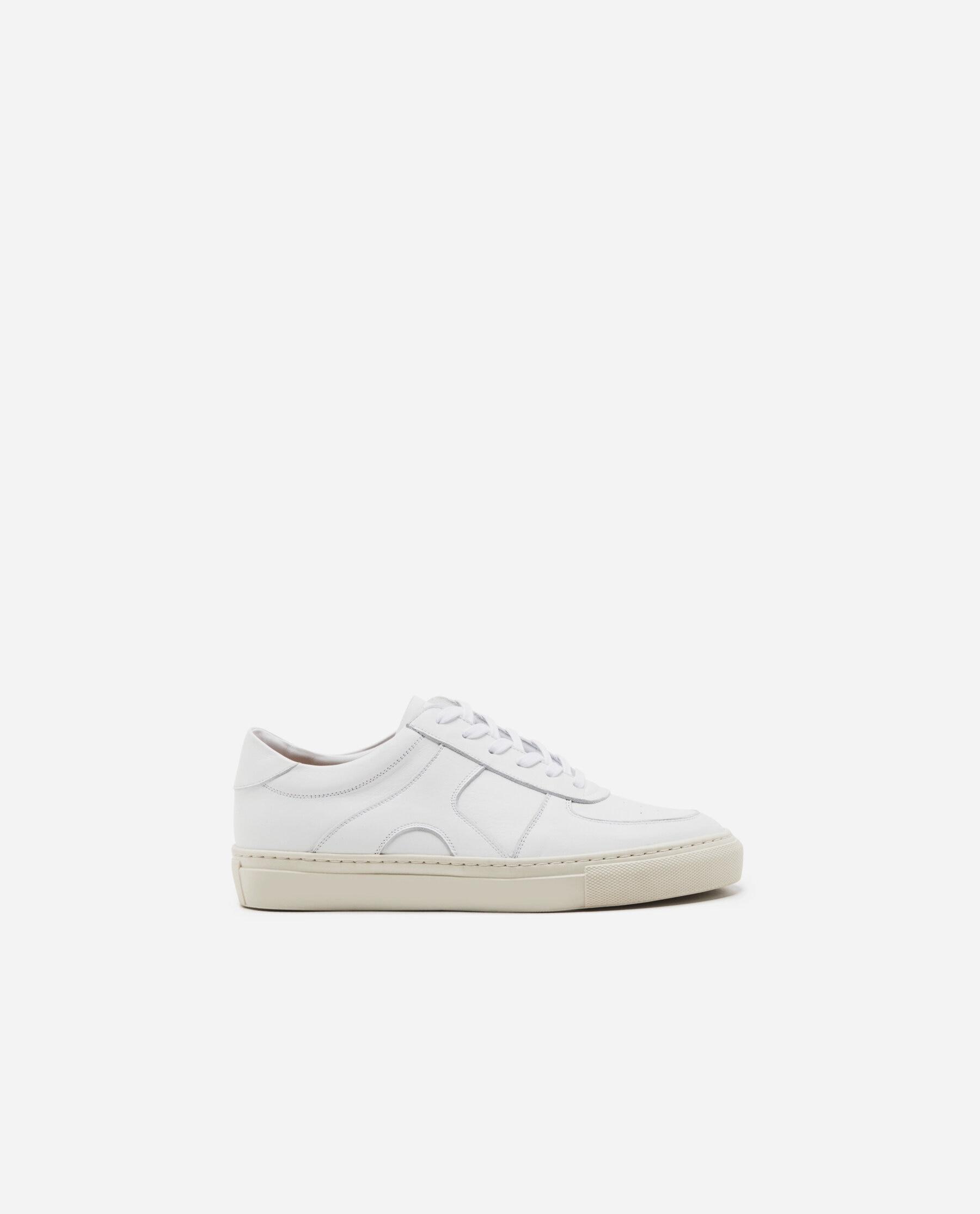 Solna Leather White