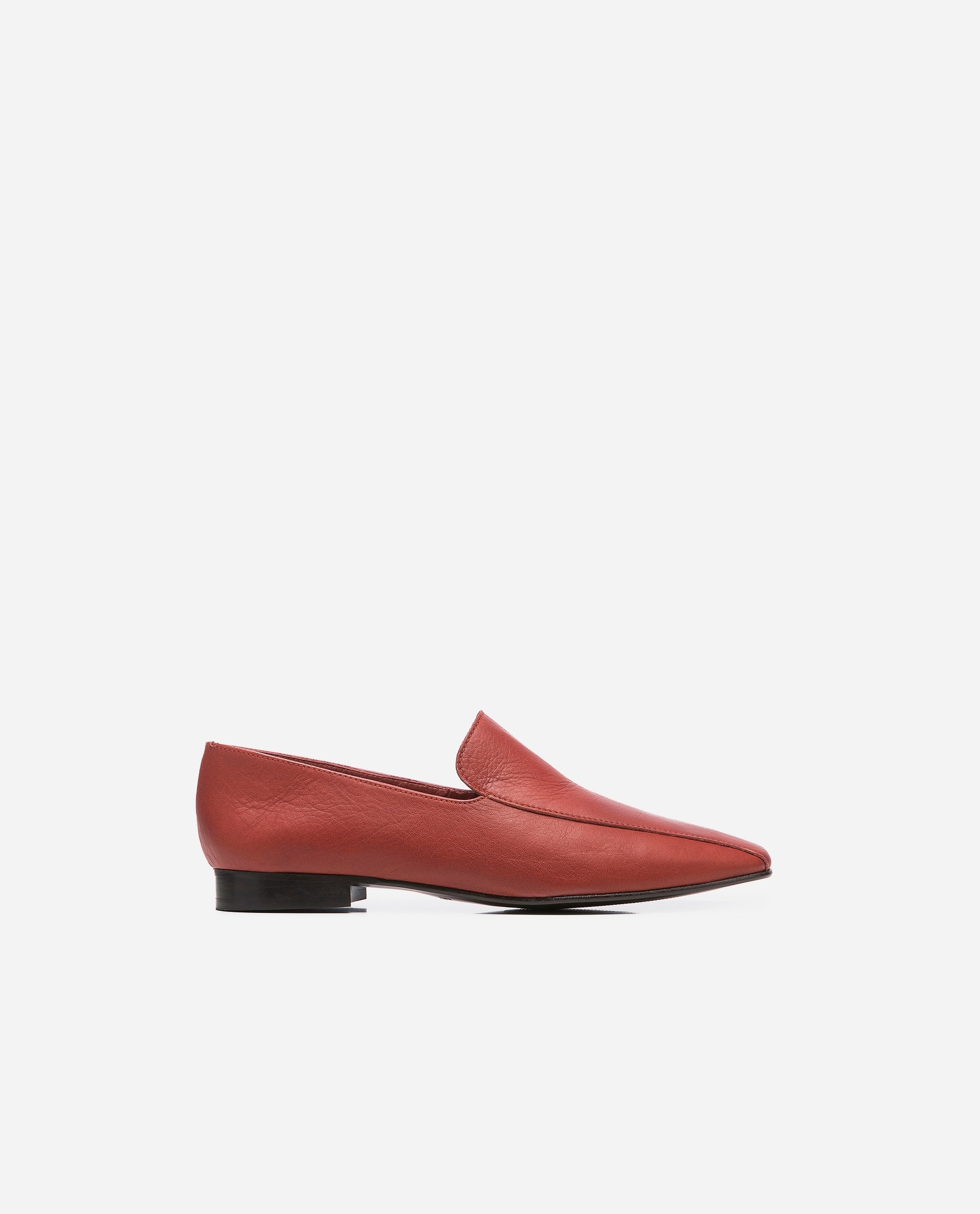 Viola Leather Brick Red