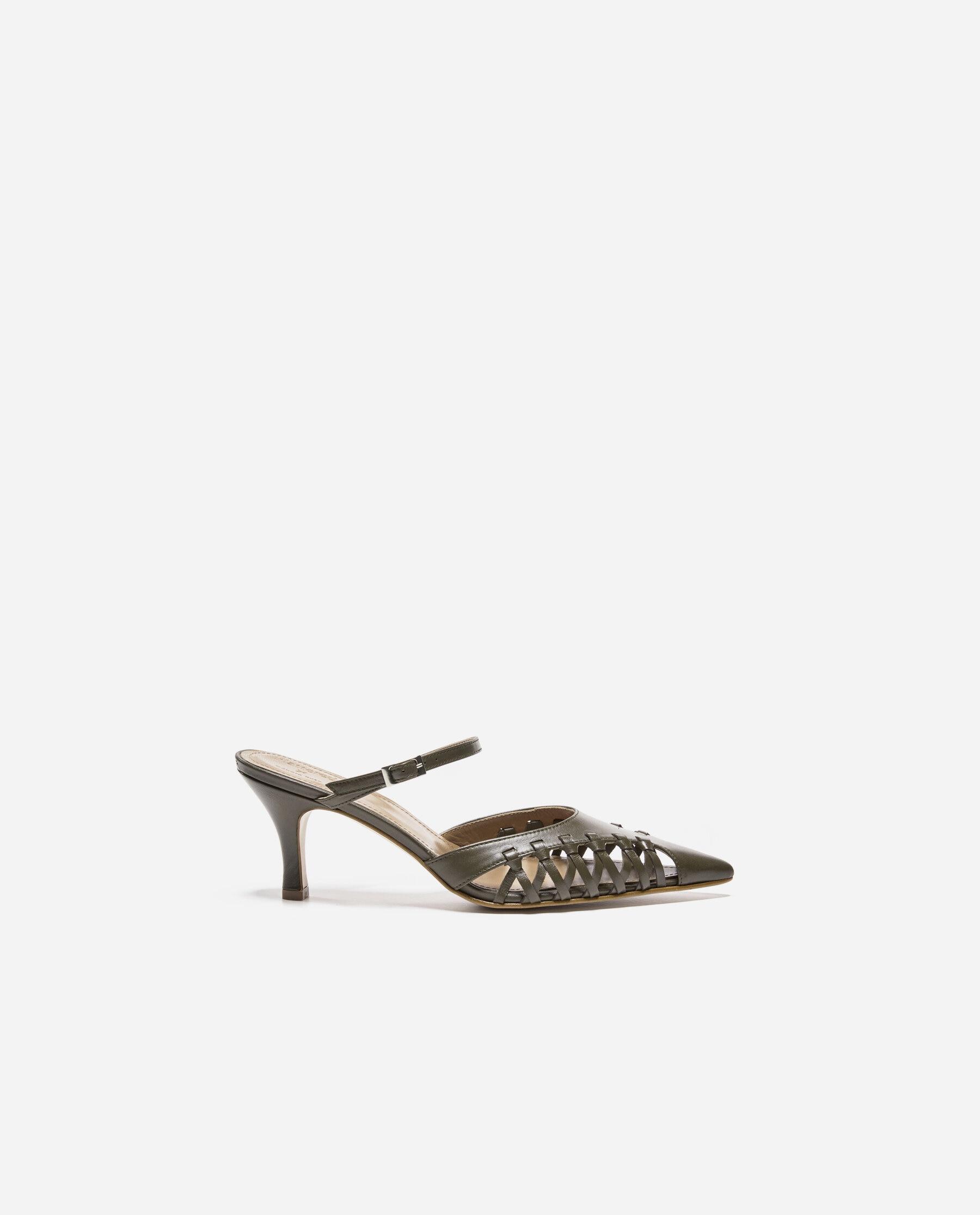 Debora Leather Khaki