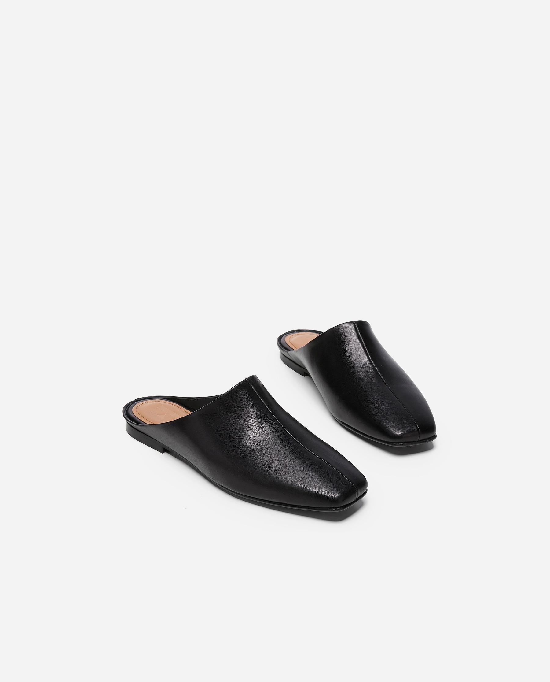 Noa Leather Black