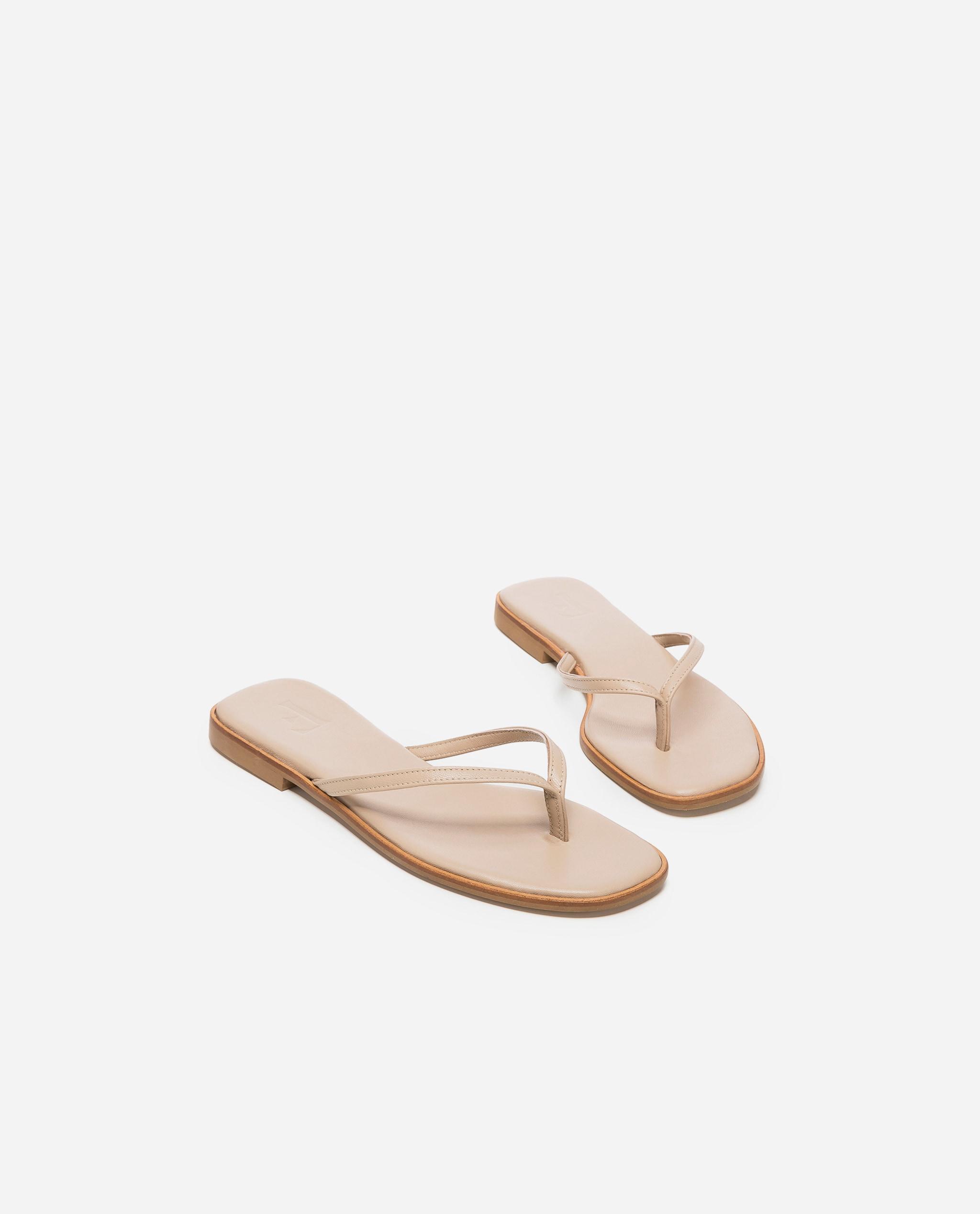 Ylva Leather Sand
