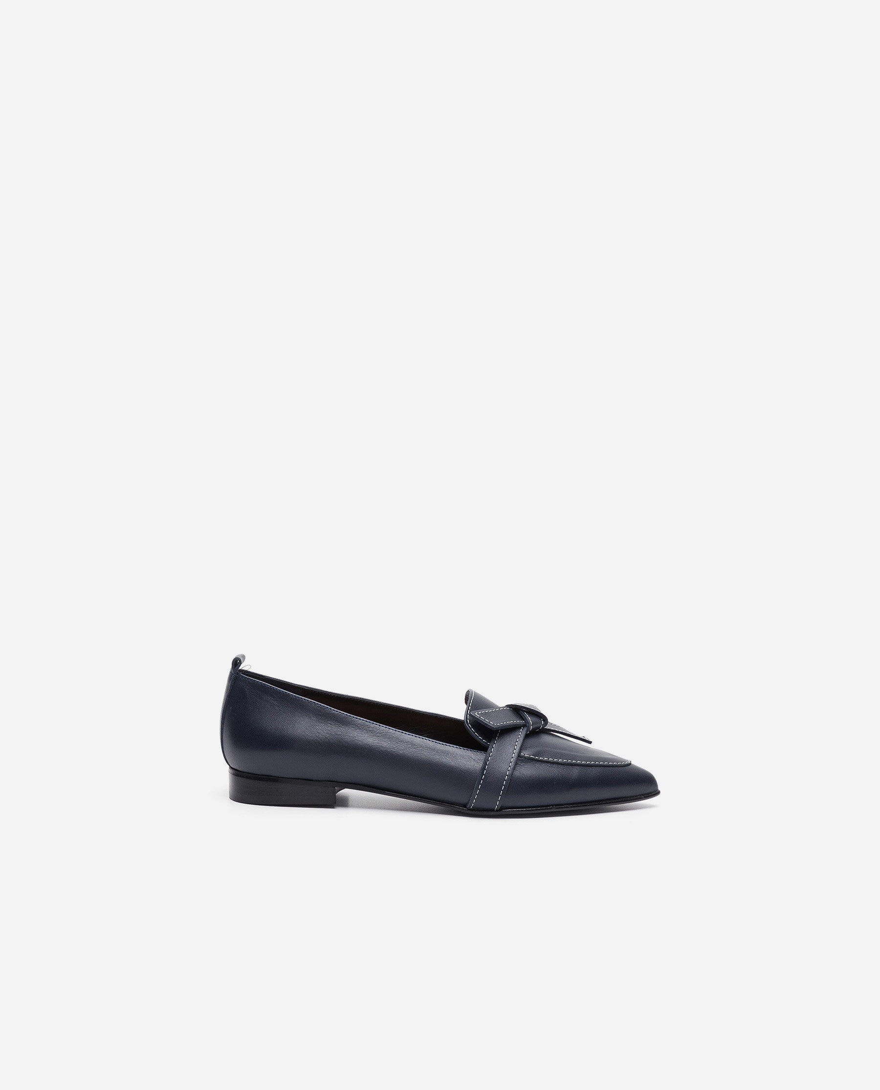 Ally Leather Navy