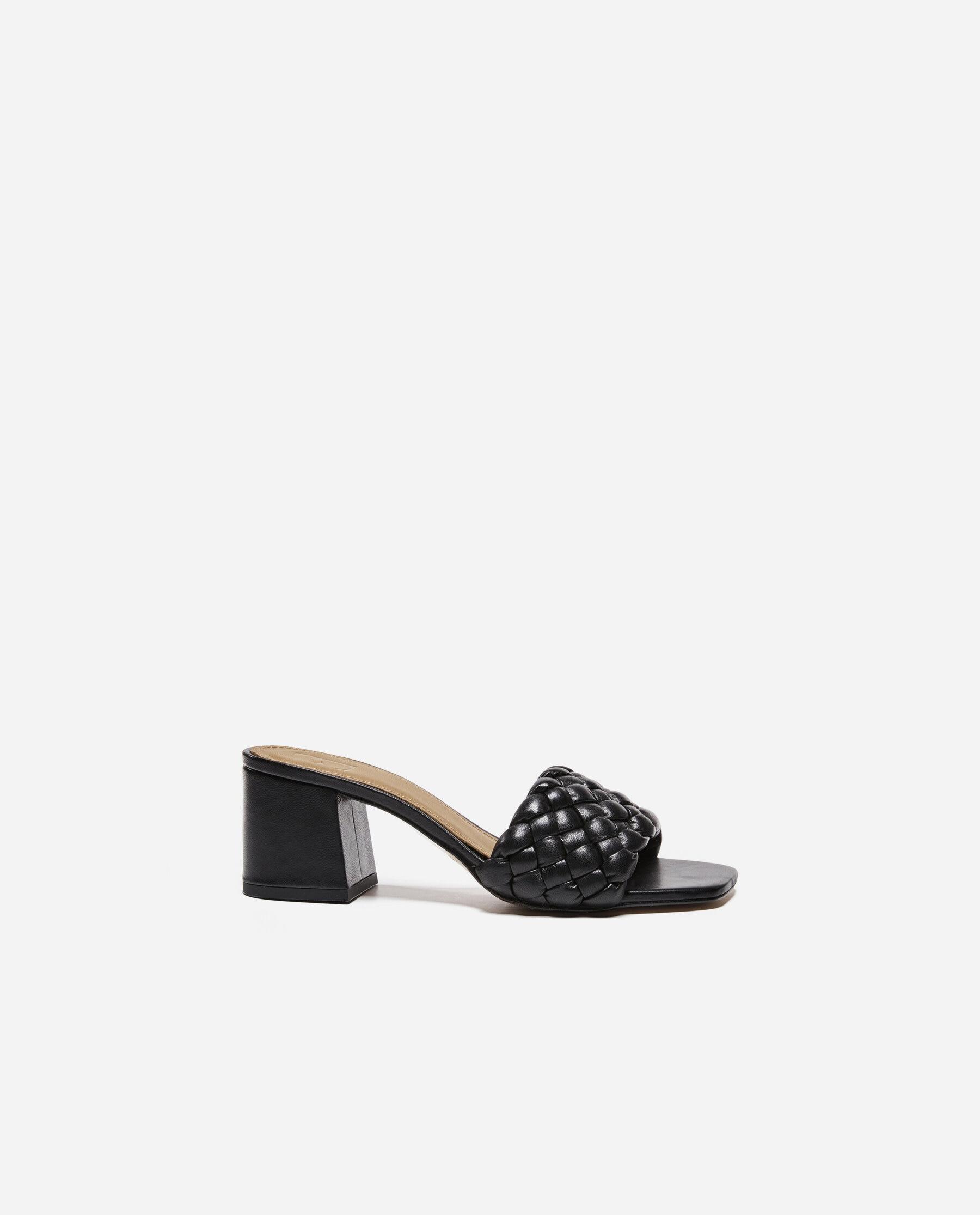 Odessa Leather Black