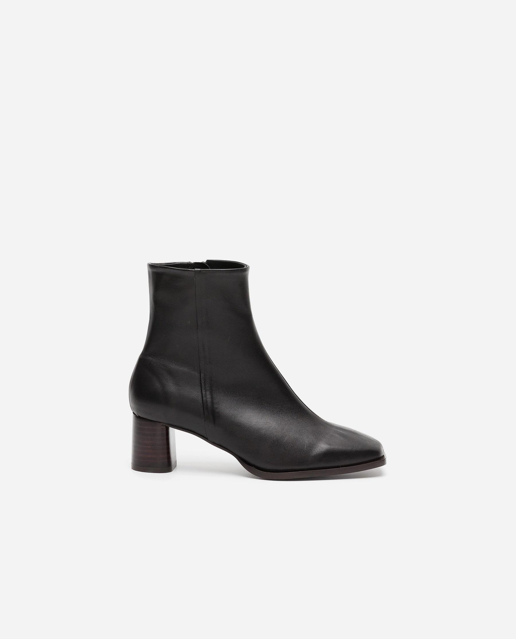 Maddie Leather Black