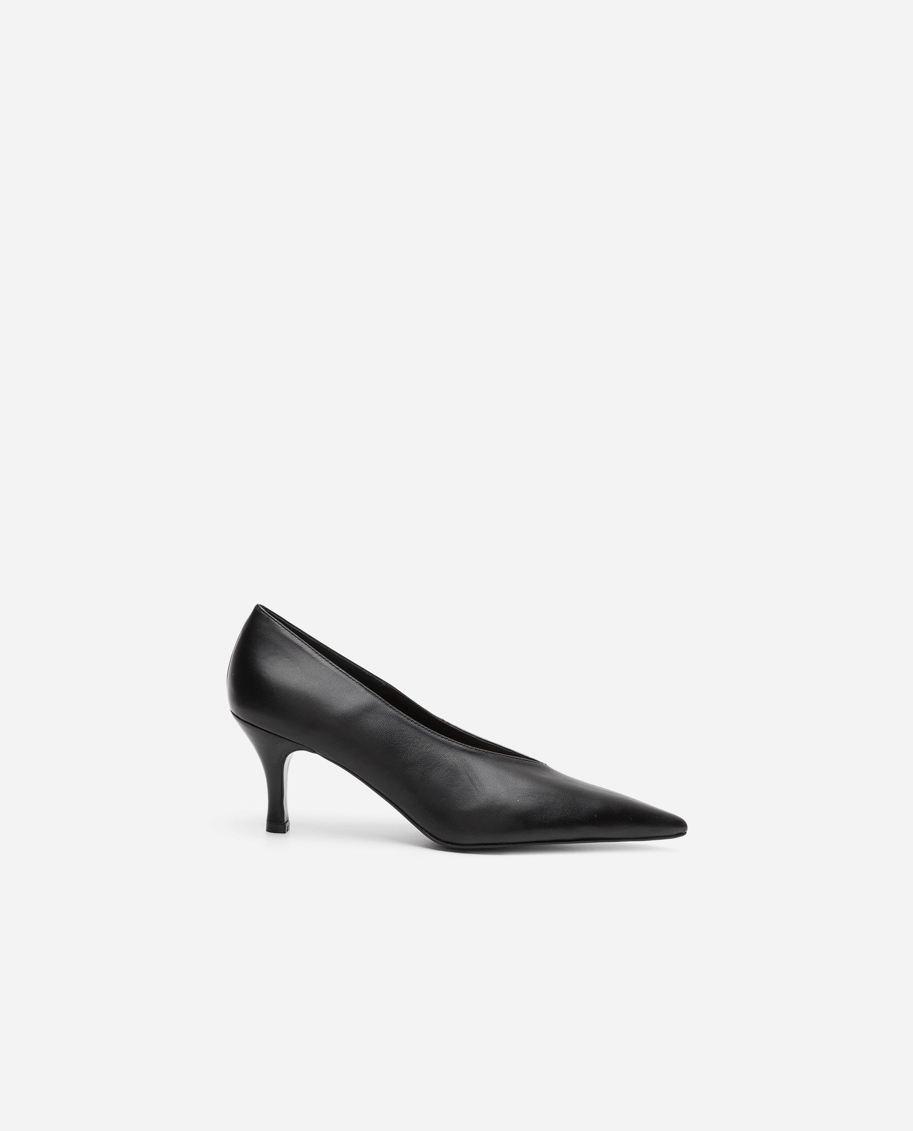 Fabienne Leather Black