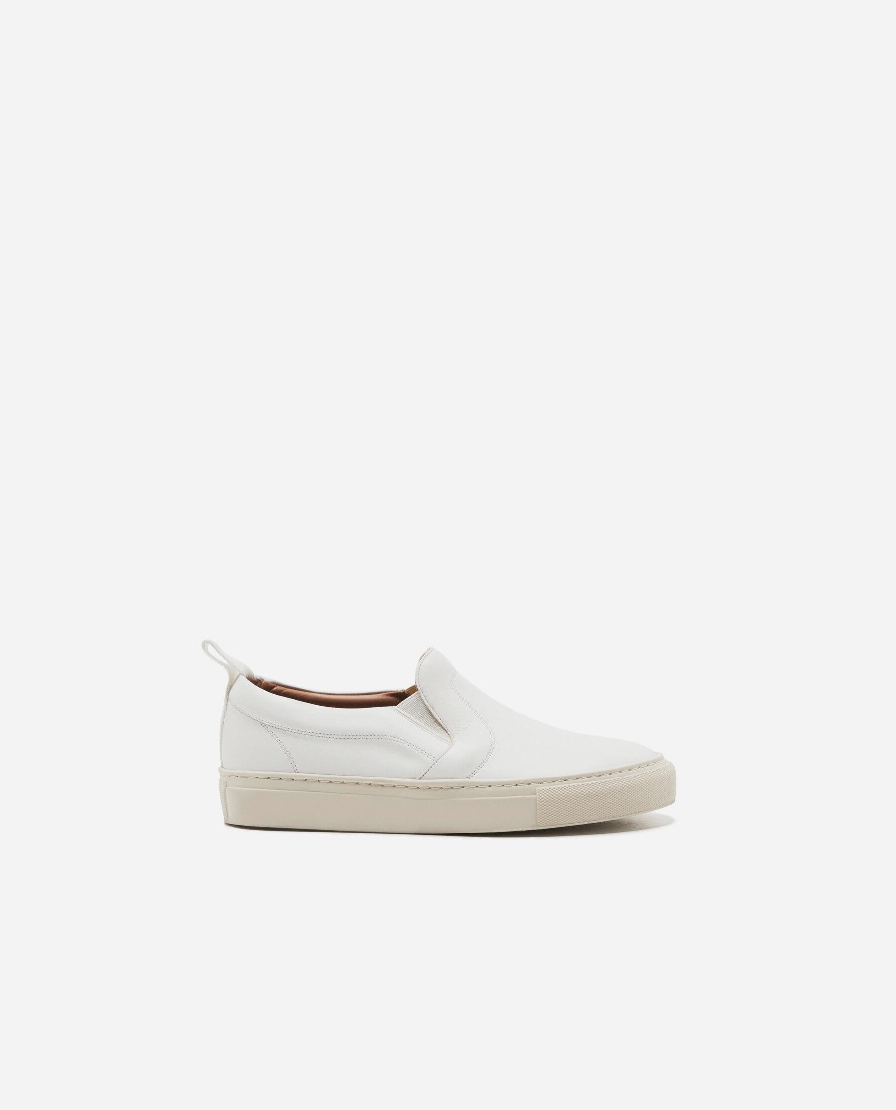 Haga Leather White