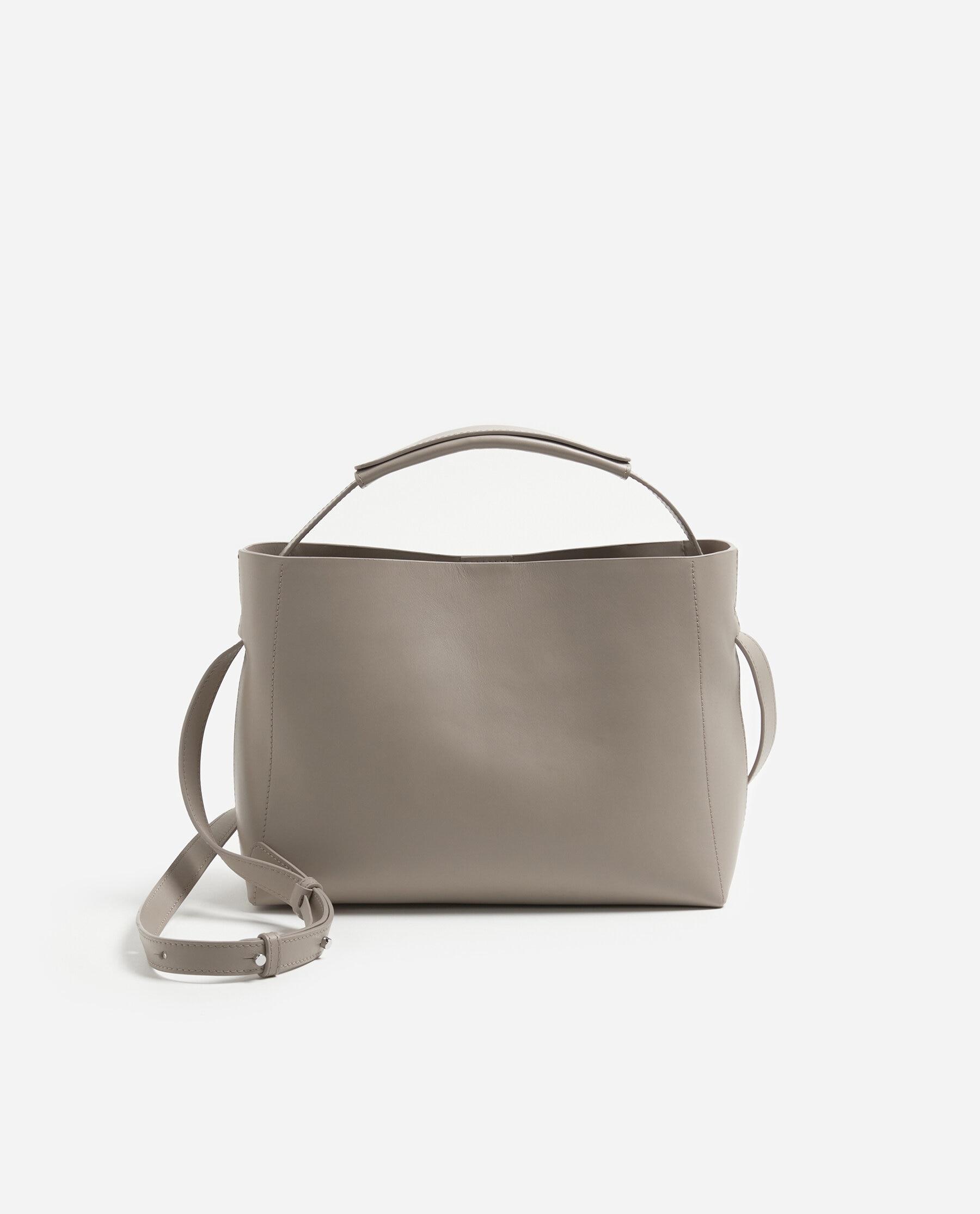 Hedda Handbag Leather Taupe