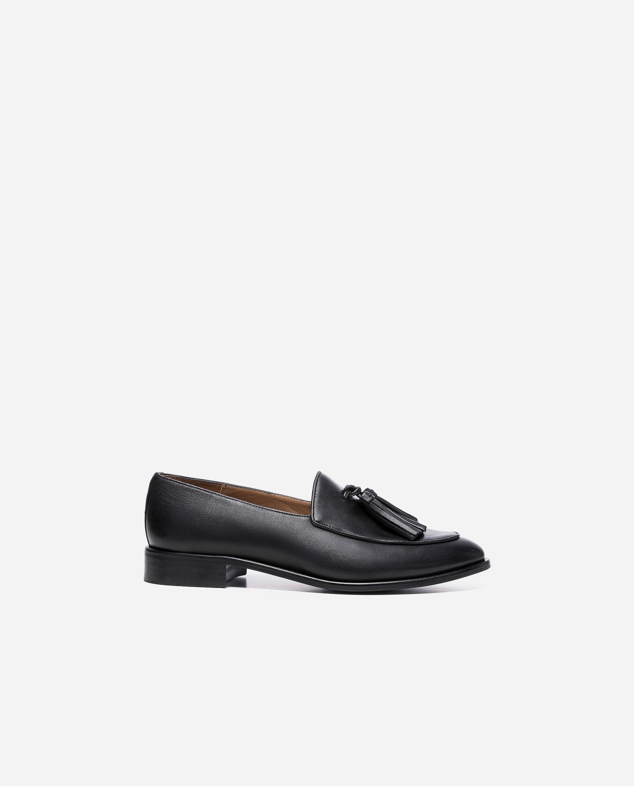 Isabel Leather Black