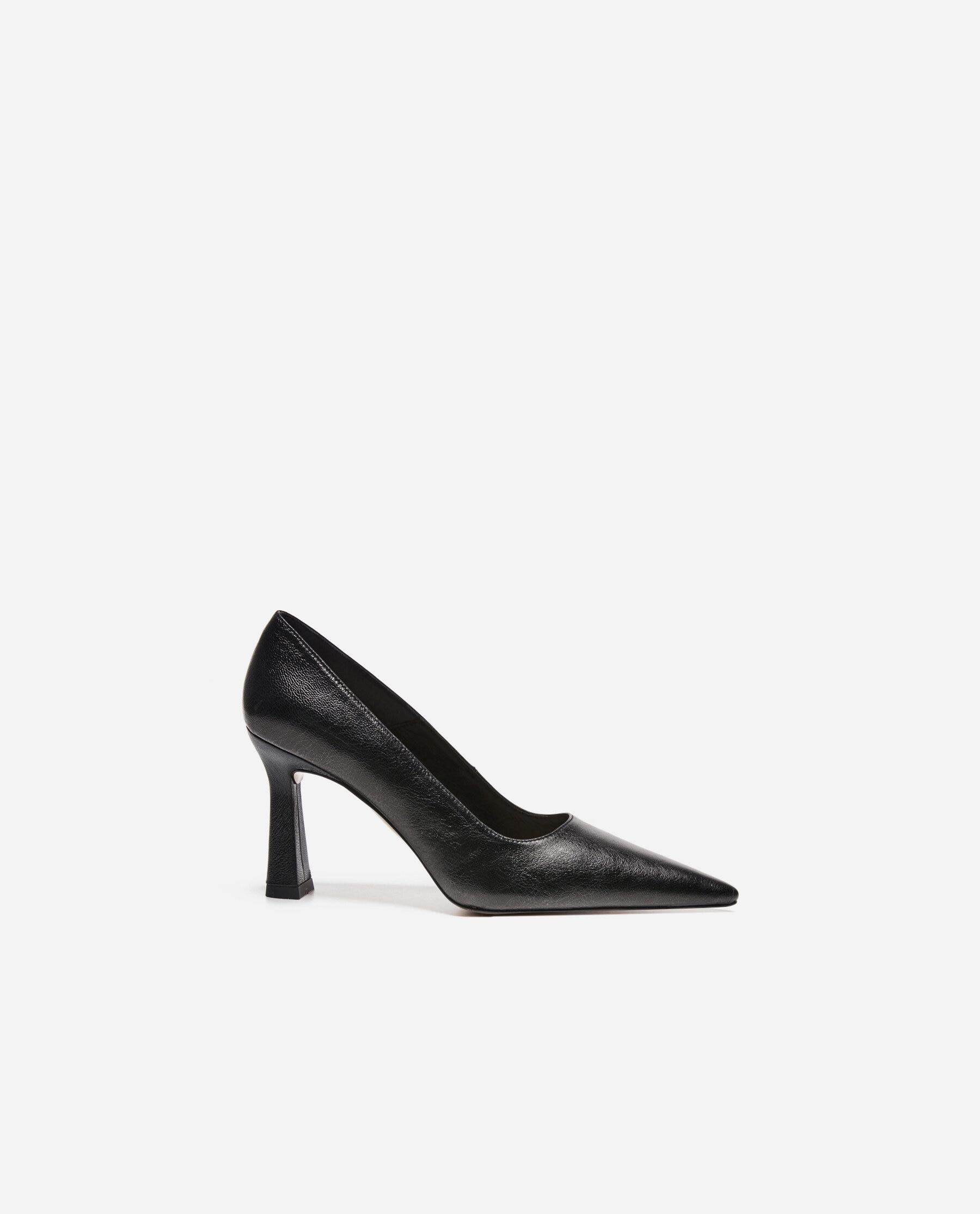 Renee Leather Shiny Black