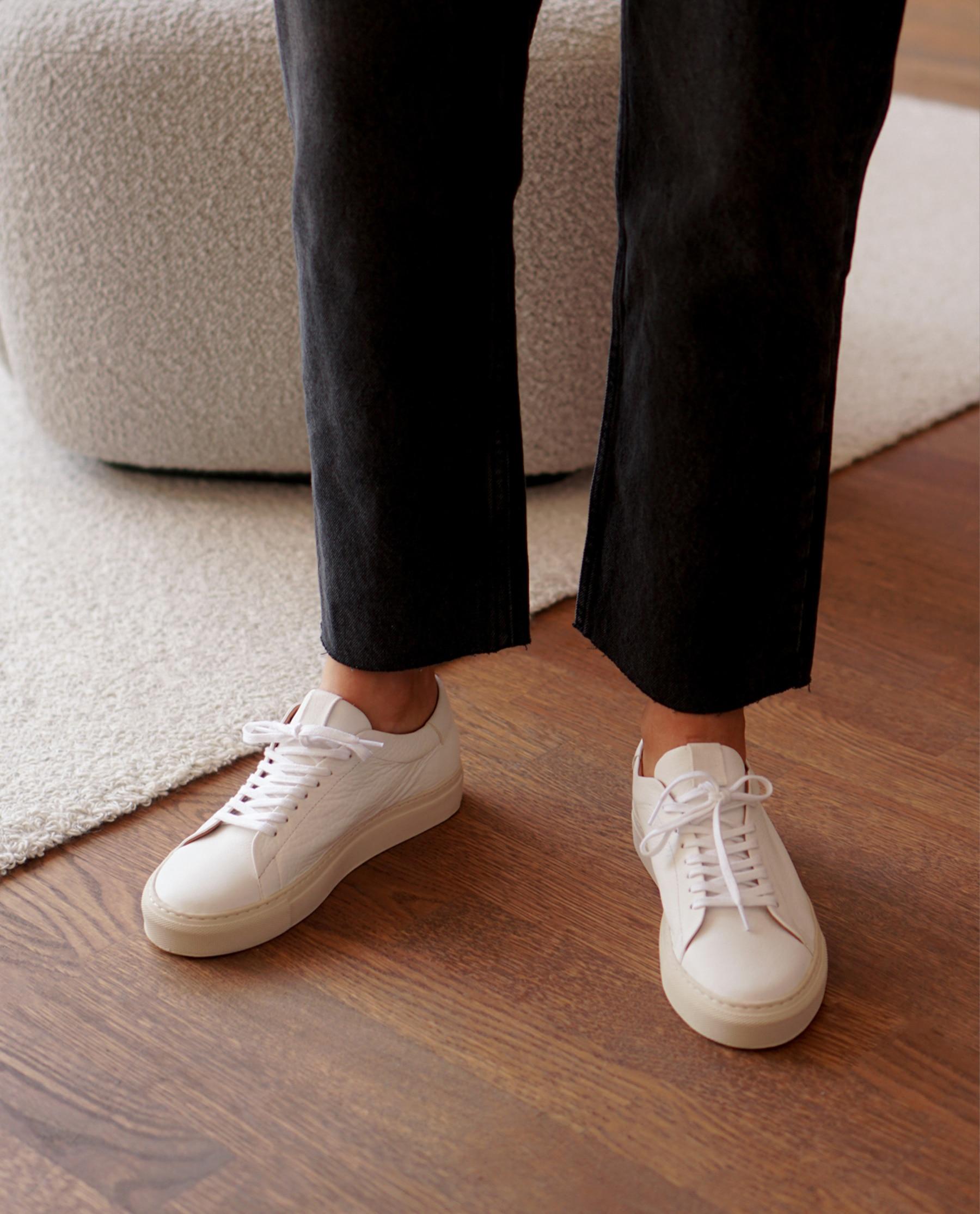 Stockholm Leather White