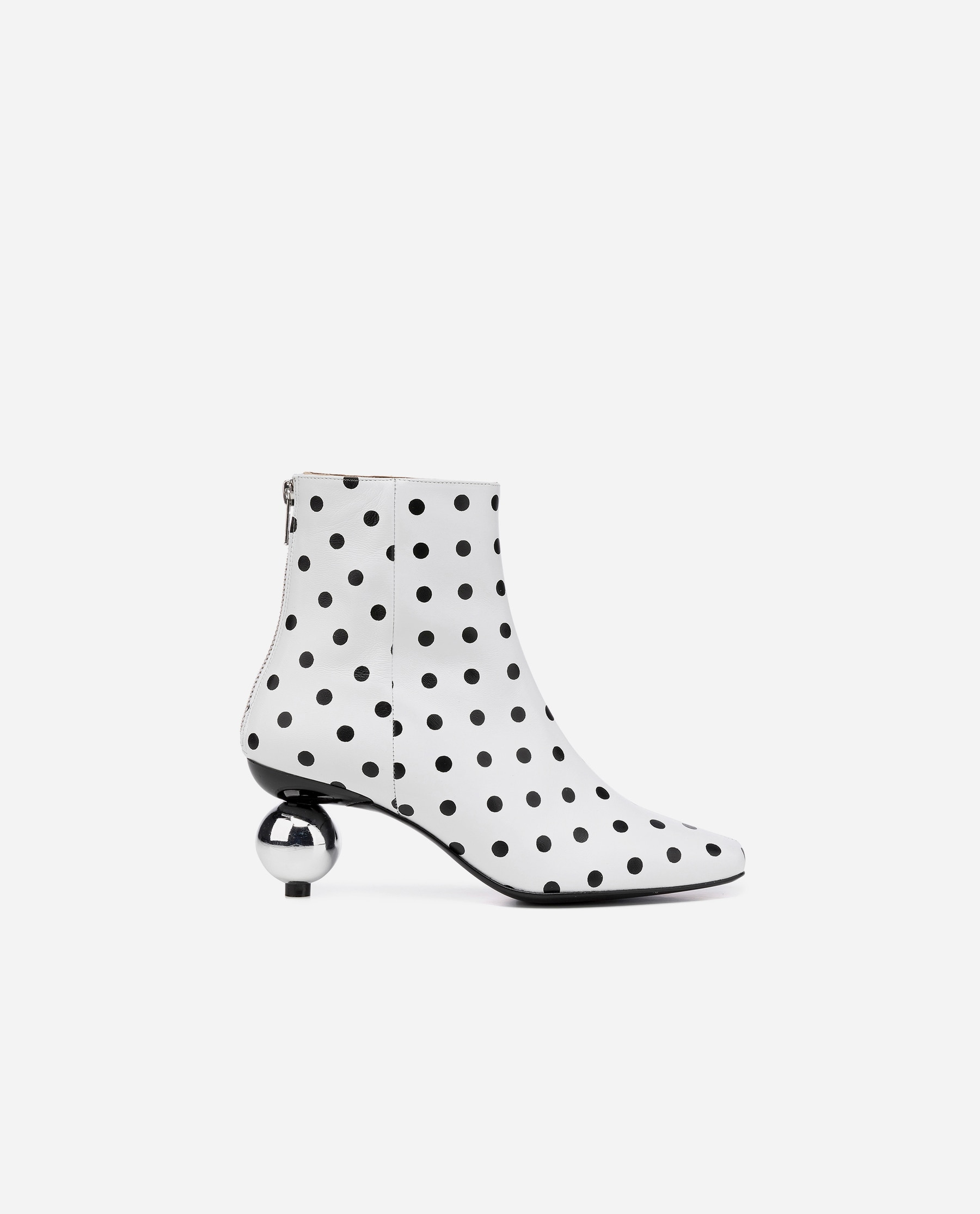 Nina Sandbech Leather White