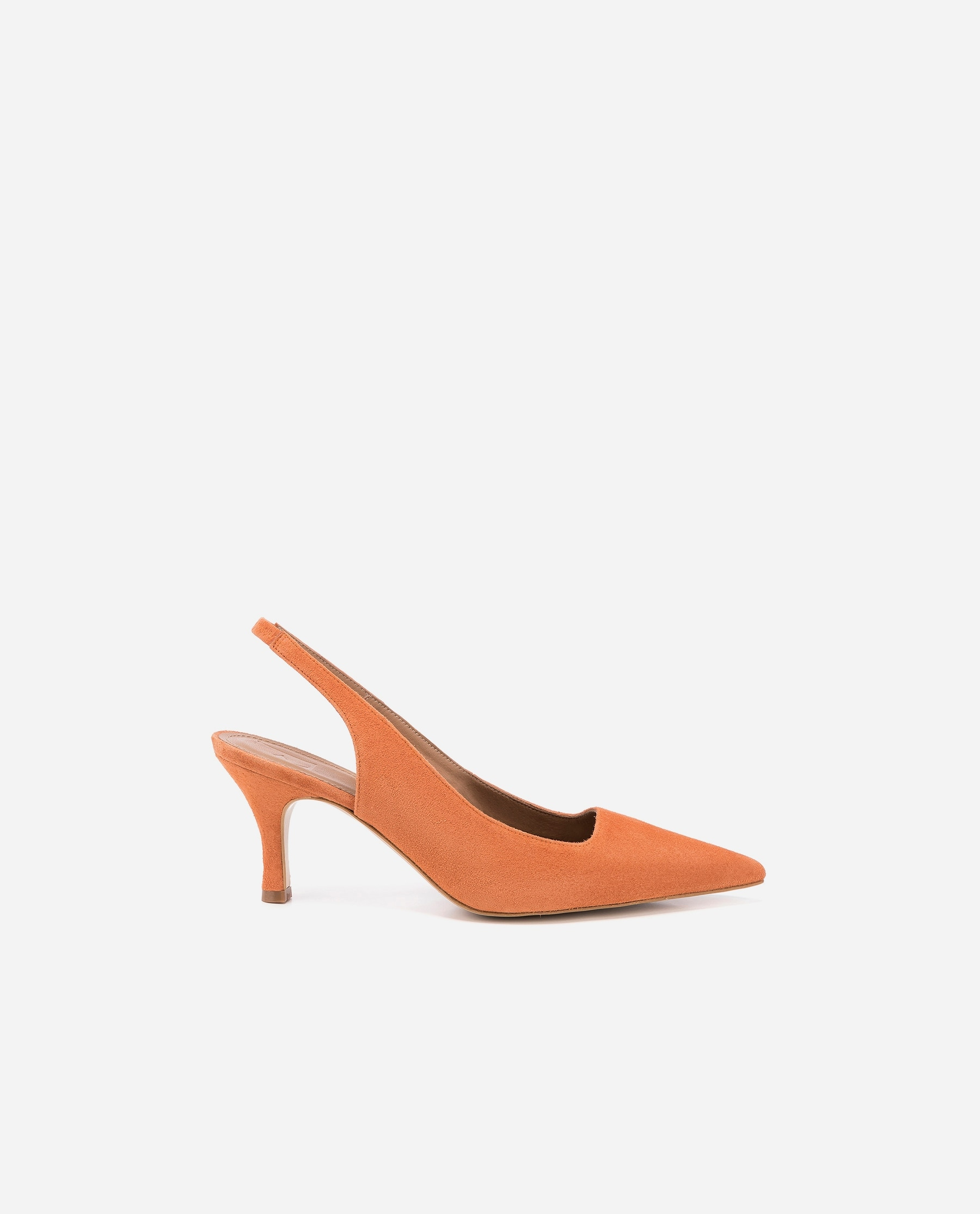 Franchesca Suede Orange