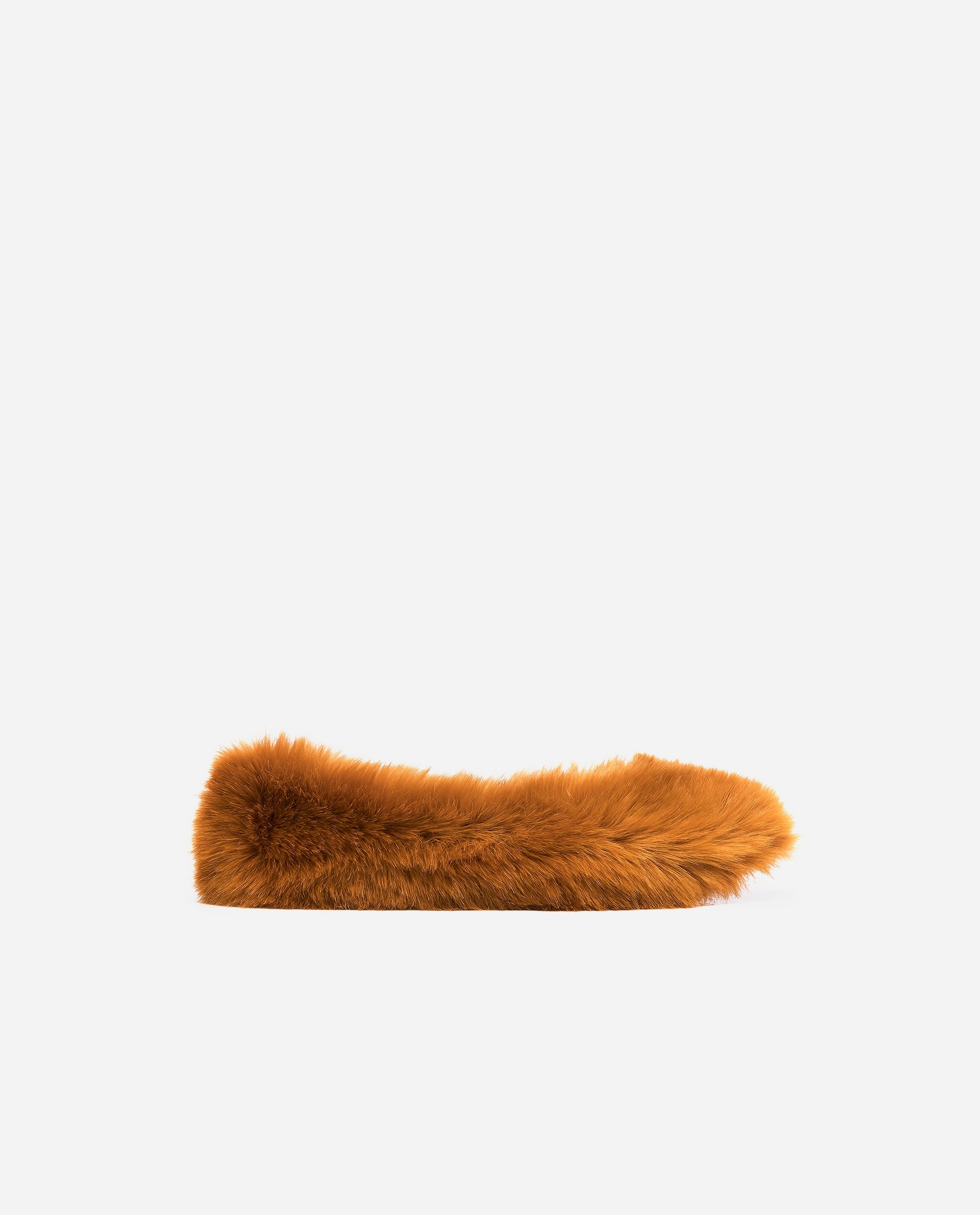 Nina Faux Fur Orange